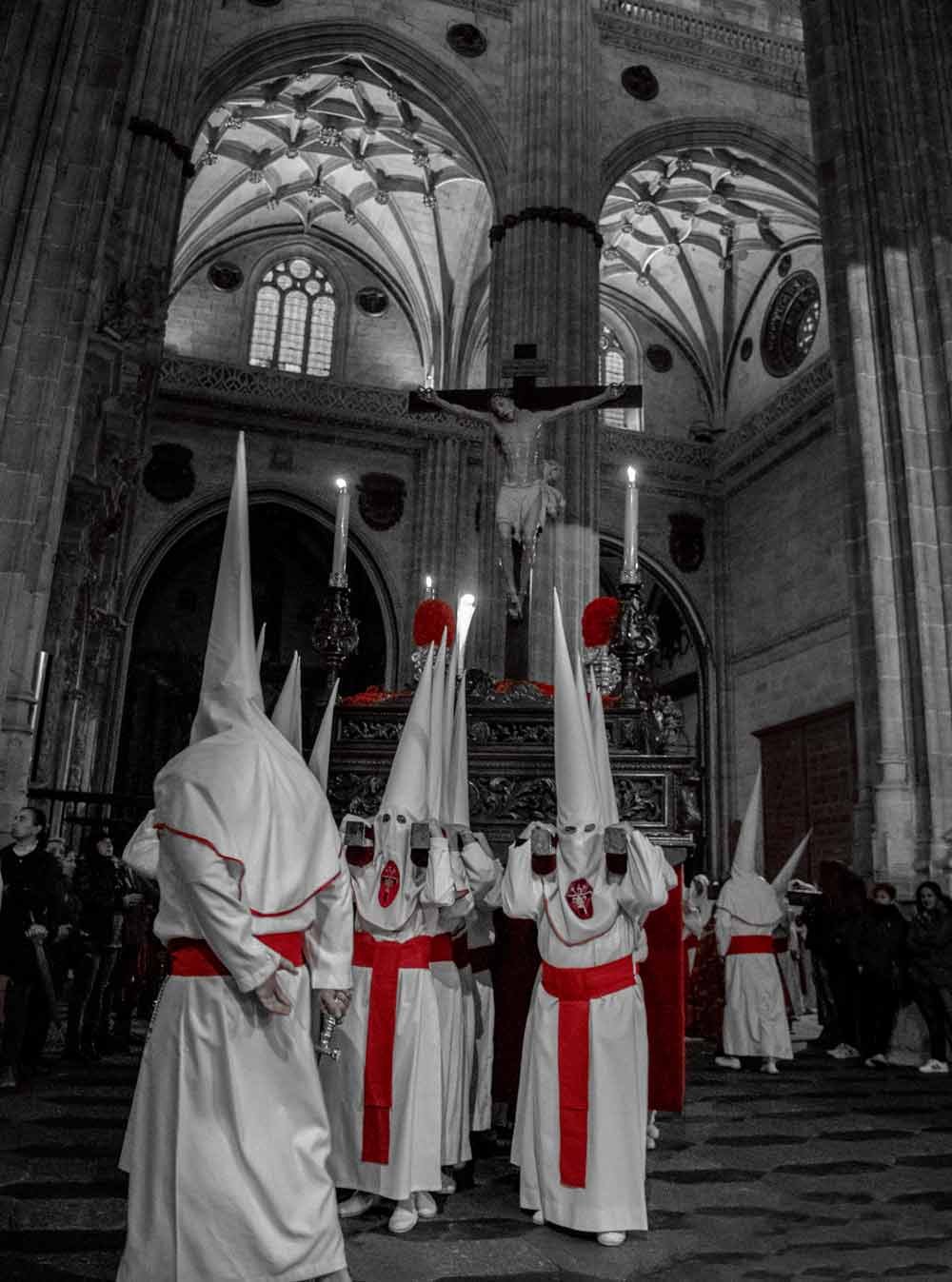 Catedral con el Cristo Yacente