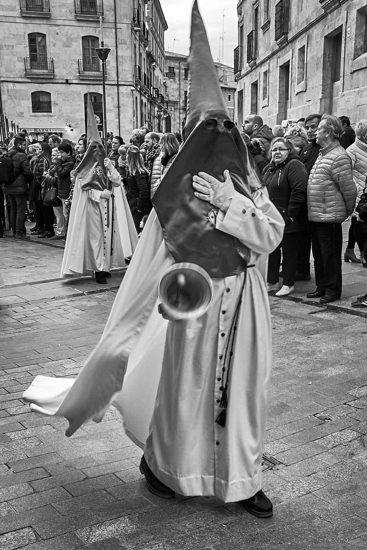 Hábito de Cristo del Huerto, procesión