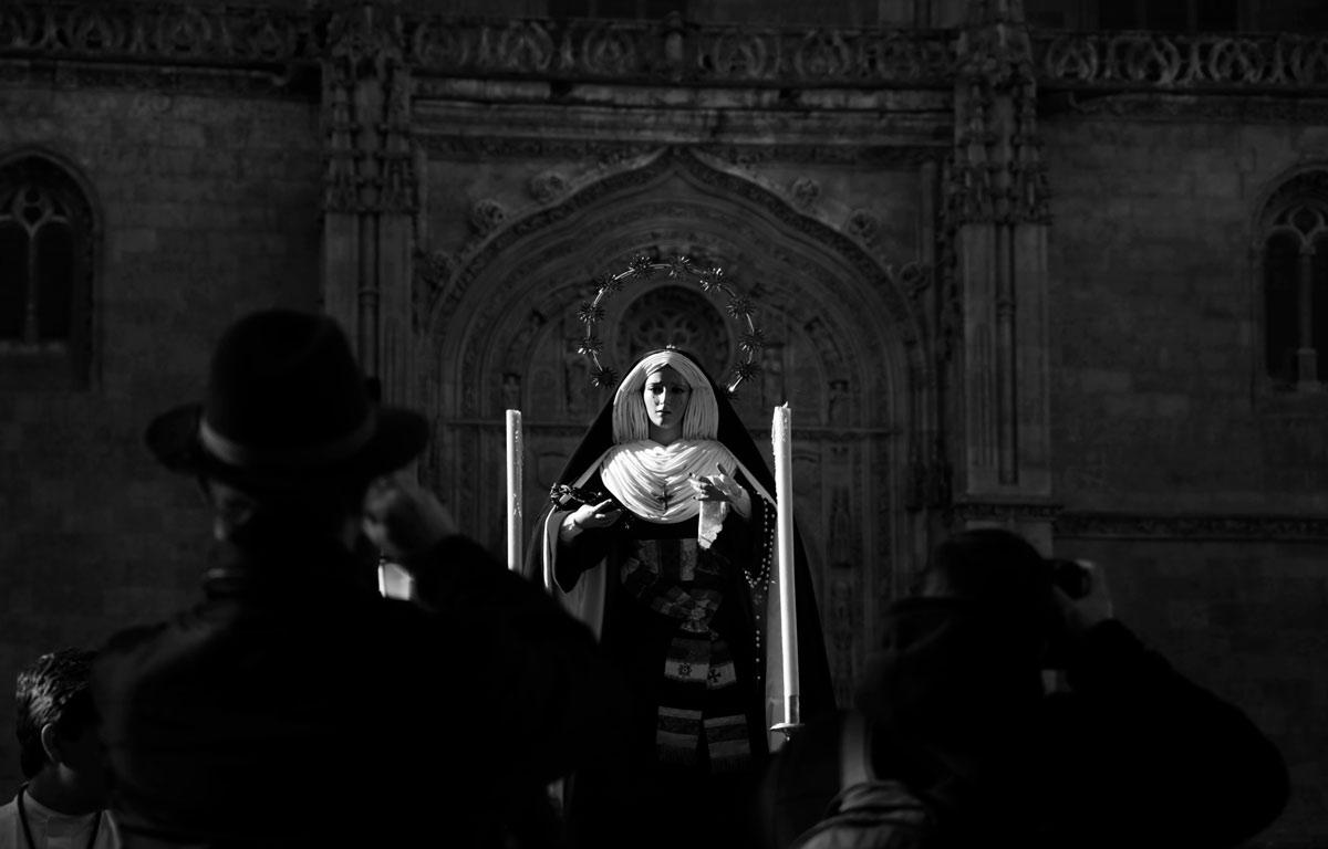 Hermandad de Salamanca Jesús Despojado Virgen