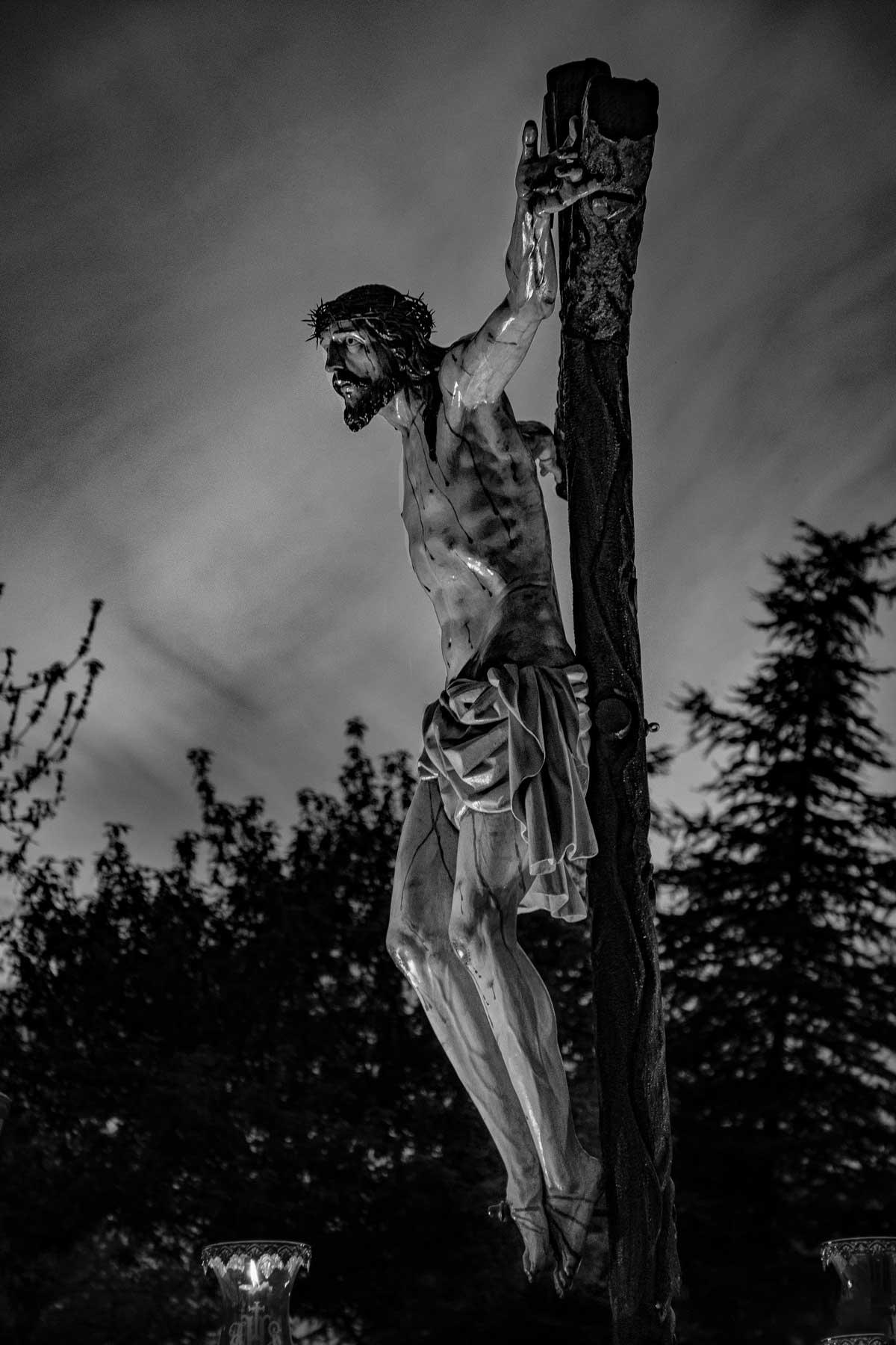 Jesús del Perdón clavado en la cruz, salamanca