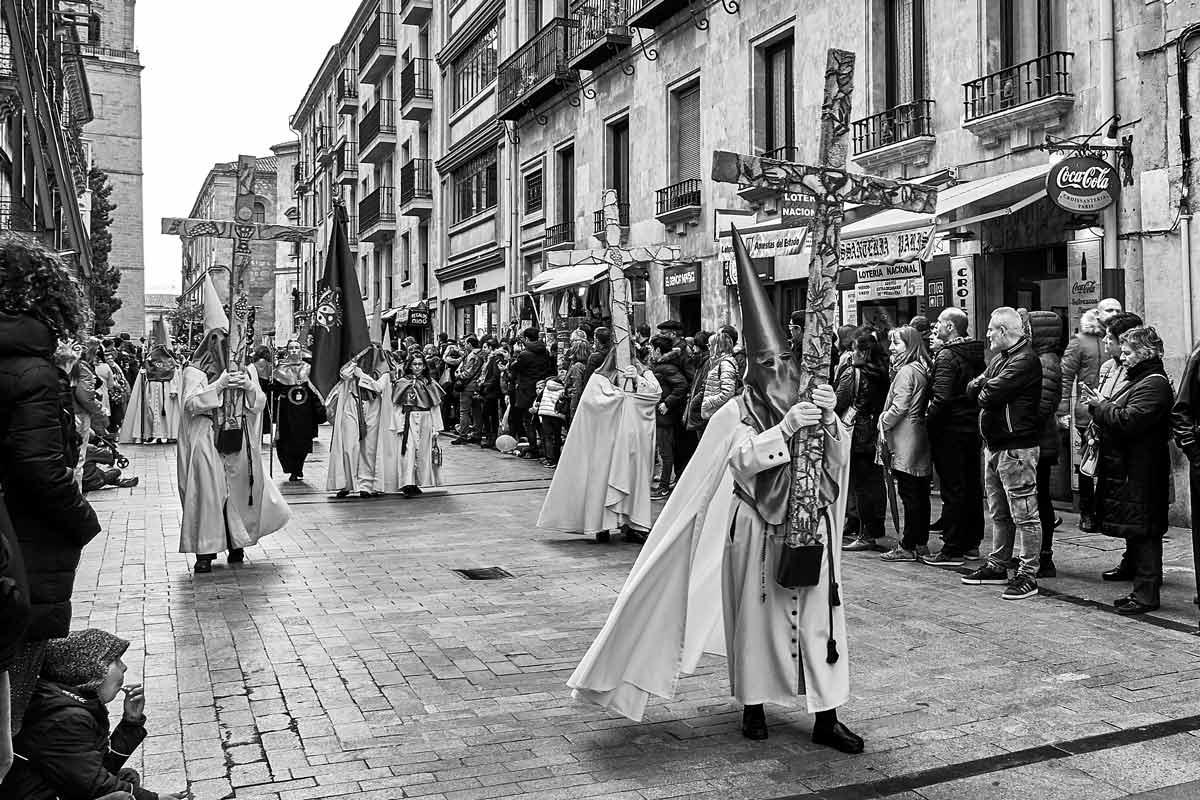 Procesión Huerto de los Olivos semana santa en Salamanca