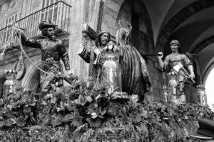 Detalle Santo entierro de la congregación